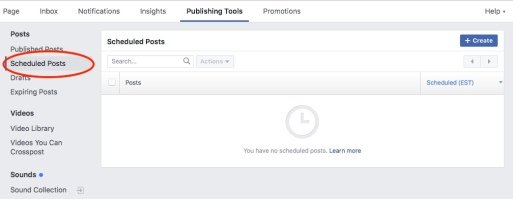 FB Screenshot pubishing tool